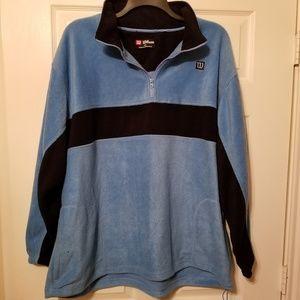 Wilson fleece 1/4 zip pullover fleece size xxl